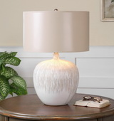 Georgios Textured Ceramic Lamp - LUT2389