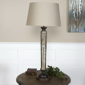 Cassini Mercury Glass Buffet Lamp  - LUT6872