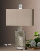 Canino Mercury Glass Table Lamp  - LUT6882