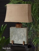 Slate Square Table Lamp  - LUT6891