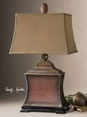 Pavia Red Table Lamp  - LUT2202