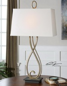 Ferndale Scroll Metal Lamp  - LUT6895