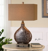 Somali Dark Bronze Table Lamp - LUT2417
