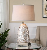 Capurso Capiz Shell Table Lamp - LUT2419