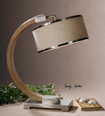 Metauro Wood Desk Lamp  - LUT6961