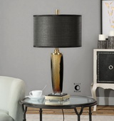 Circello Textured Glass Table Lamp - LUT2435