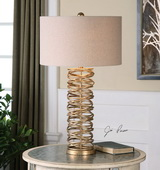 Amarey Metal Ring Table Lamp - LUT2445