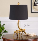 Golden Antlers Table Lamp - LUT2459