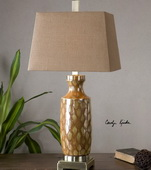 Aguilar Rust Red Table Lamp - LUT2485