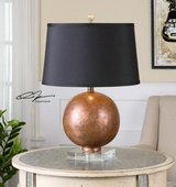 Armel Oxidized Copper Table Lamp - LUT2511