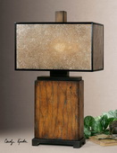 Sitka Wood Table Lamp  - LUT2424