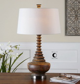 Diega Solid Wood Table Lamp  - LUT6983