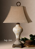 Fobello Ivory Table Lamp  - LUT2446