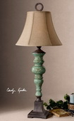 Bettona Aqua Blue Table Lamp  - LUT2458