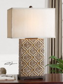 Curino Golden Bronze Table Lamp  - LUT2498