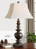 Verrone Bronze Table Lamp  - LUT2500