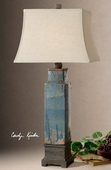 Soprana Blue Table Lamp  - LUT2504