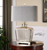 Molinara Mercury Glass Table Lamp - LUT2531