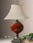 Anka Red Table Lamp  - LUT2540