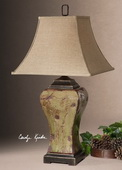 Porano Green Table Lamp  - LUT2570