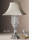 Fascination II Silver Table Lamp  - LUT2582