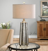 Sullivan Mercury Glass Table Lamp - LUT2539