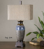 Antonito Textured Ceramic Table Lamp - LUT2555