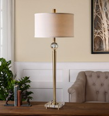 Mesita Brass Buffet Lamp - LUT2569