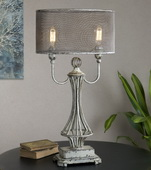 Pontoise Aged Ivory Table Lamp - LUT2583