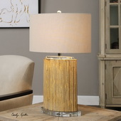 Lurago Bamboo Table Lamp - LUT2589