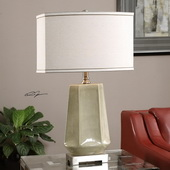 Valbona Rust Gray Lamp - LUT2595