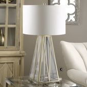 Albanese Glass Table Lamp - LUT2605
