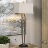 Daugava Rust Brown Floor Lamp - LUT2613