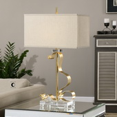 Camarena Bright Gold Lamp - LUT2635