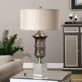 Araby Smoke Gray Lamp - LUT2637