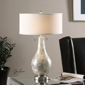 Saracena Mercury Glass Lamp - LUT2647