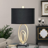 Trigolo Bright Gold Lamp - LUT2669