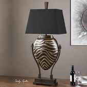 Aguila Dark Bronze Table Lamp - LUT2733