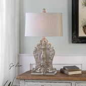 Triversa Distressed Table Lamp