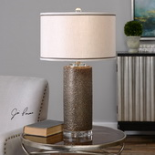 Varaita Metallic Bronze Table Lamp