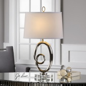 Armiana Curved Iron Lamp