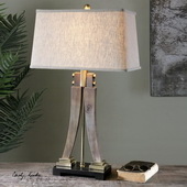 Yerevan Wood Leg Lamp