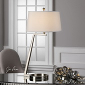 Ordino Brushed Nickel Lamp
