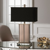 Seyburn Antiqued Copper Lamp