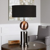 Azle Oxidized Copper Lamp