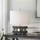 Rivard Brushed Nickel Lamp