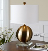 Laton Brass Sphere Table Lamp  - LUT6997