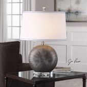 Liadan Ceramic Orb Table Lamp - LUT6069