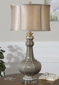 Racimo Gray Table Lamp - LUT2892