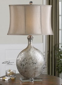 Navelli Silver Table Lamp - LUT2894